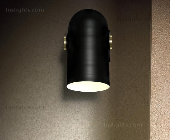 Spot light  Ceiling light  Wall Light  minimalism  loft light  black swivel light